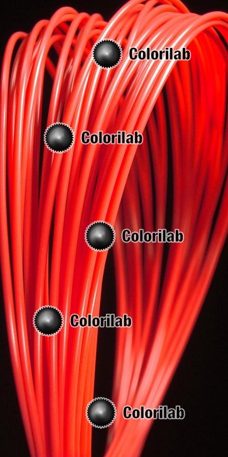 Filament d'imprimante 3D 1.75 mm PLA rouge 032C
