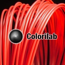 ABS 3D printer filament 1.75 mm close to red 032 C