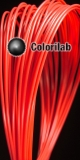 Filament d'imprimante 3D 3.00 mm PLA rouge 032C