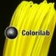 PLA 3D printer filament 1.75 mm yellow 395C