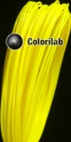 ABS 3D printer filament 1.75 mm yellow 395 C