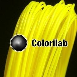 Filament d'imprimante 3D 3.00 mm PLA jaune 395C