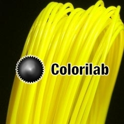 ABS 3D printer filament 3.00 mm yellow 395C