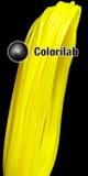 PLA 3D printer filament 3.00 mm translucent yellow 395C