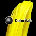 Filament d'imprimante 3D 3.00 mm ABS jaune translucide 395C