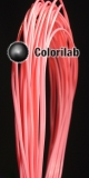 ABS 3D printer filament 3.00 mm pink 190C