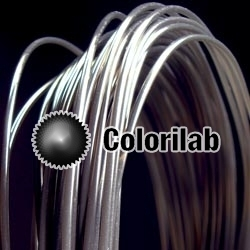 PLA 3D printer filament 1.75 mm translucent black Black 2C