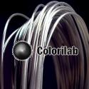 PLA 3D printer filament 1.75 mm translucent black Black 2C