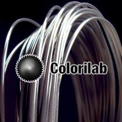 Filament d'imprimante 3D 1.75 mm ABS noir translucide 2C