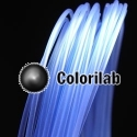 Filament d'imprimante 3D 1.75 mm PLA bleu translucide 7455C