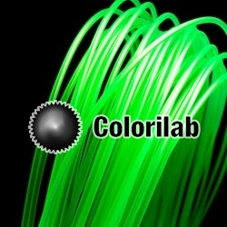 PLA 3D printer filament 1.75 mm translucent green 7481 C