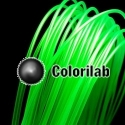 PLA 3D printer filament 3.00 mm translucent green 7481C