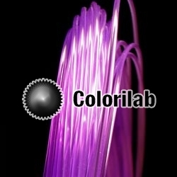 ABS 3D printer filament 1.75 mm translucent violet 2603C