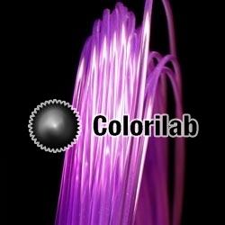Filament d'imprimante 3D 3.00 mm PLA violet translucide 2603C