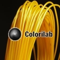 ABS 3D printer filament 3.00 mm gold 117C