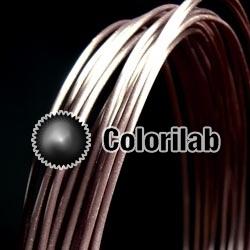 Filament d'imprimante 3D PLA 1.75 mm brun Noir 5C