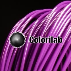 ABS 3D printer filament 3.00mm deep purple 2603C
