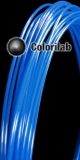 Filament d'imprimante 3D PLA 3.00 mm bleu 285C