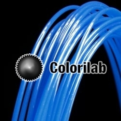 POM 3D printer filament 3.00mm blue 285C