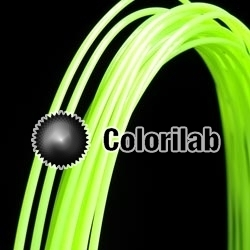 PLA 3D printer filament 3.00mm fluo green 7487C