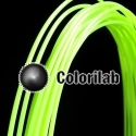 ABS 3D printer filament 3.00mm fluo green 7487C