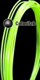 ABS 3D printer filament 3.00mm close to fluo green 7487 C