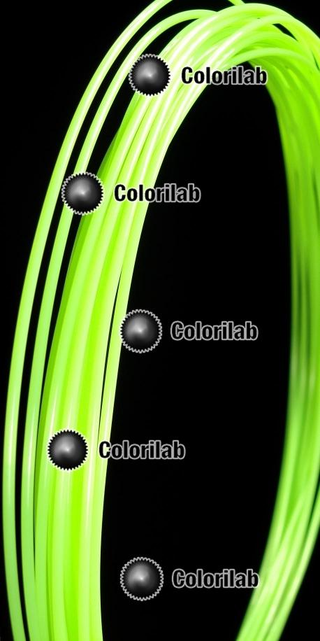 Filament d'imprimante 3D ABS 3.00 mm vert fluo 7487C