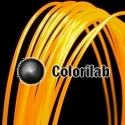 Filament d'imprimante 3D PLA 3.00 mm orange fluo 2013C