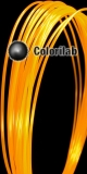 PLA 3D printer filament 3.00mm close to fluo orange 2013 C