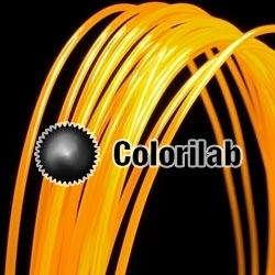 ABS 3D printer filament 1.75mm fluo orange 2025C