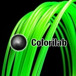 ABS 3D printer filament 3.00mm close to green 2270 C