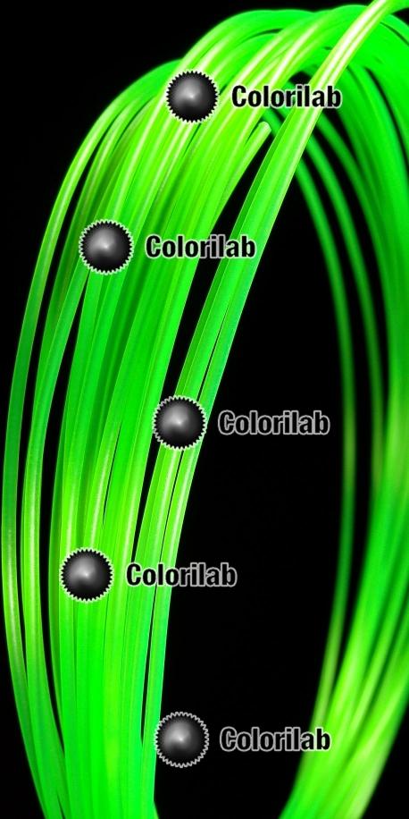 POM 3D printer filament 3.00mm close to green 2270 C