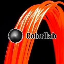 ABS 3D printer filament 1.75mm close to red 2035 C