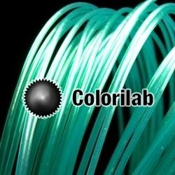 PLA 3D printer filament 3.00mm close to nautical green 328 C