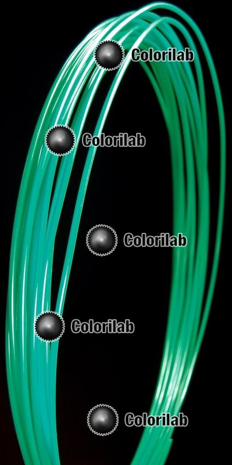 Filament d'imprimante 3D ABS 1.75 mm vert océan 3268C