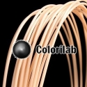 ABS 3D printer filament 1.75mm leather skin 473C