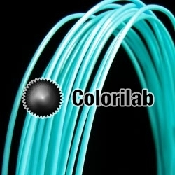 ABS 3D printer filament 1.75mm turquoise 319C