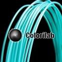 Filament d'imprimante 3D ABS 1.75 mm turquoise 319C