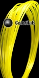 Filament d'imprimante 3D PLA 1.75 mm jaune 102 C