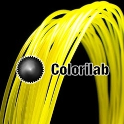 Filament d'imprimante 3D ABS 3.00 mm jaune 102 C