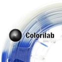 3D printer filament 3.00mm ABS thermal changing blue 7455C