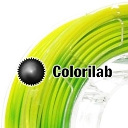 3D printer filament 3.00mm ABS thermal changing close to green 7737 C