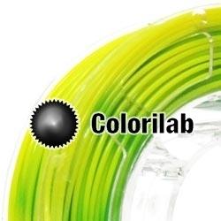 Filament d'imprimante 3D 3.00 mm ABS thermal changeant vert