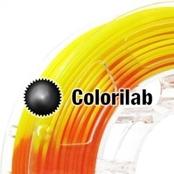 Filament d'imprimante 3D 3.00 mm PLA thermal changeant orange 716 C