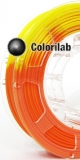 3D printer filament 3.00mm ABS thermal changing orange 716C