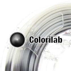 Filament d'imprimante 3D 3.00 mm PLA thermal changeant gris Cool Gray 11 C