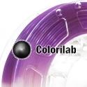 3D printer filament 3.00mm ABS UV changing : natural to violet