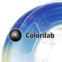 3D printer filament 3.00mm PLA UV changing : natural to blue