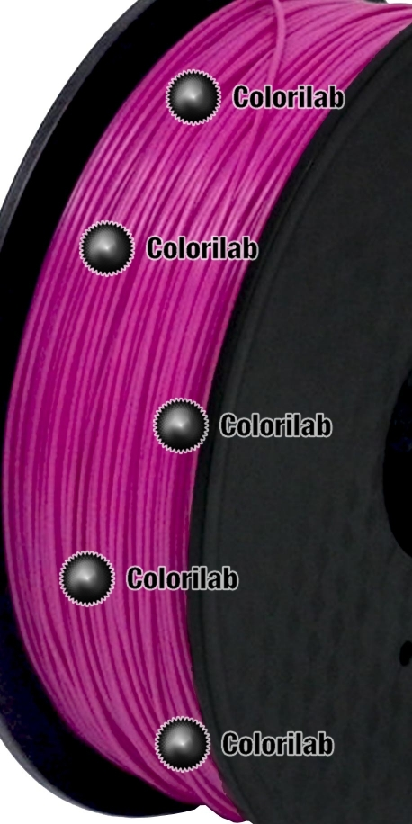 PLA 3D printer filament 1.75 mm close to violet 2 248 C