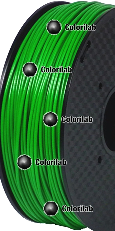 ABS 3D printer filament 3.00 mm dark green 2272C